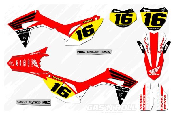 Kit adhesivos moto Honda Fly