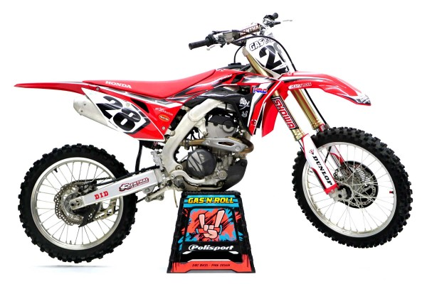 Kit adhesivos moto Honda...