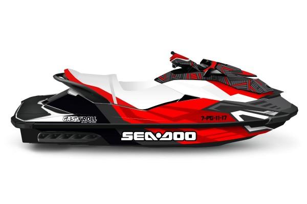 Kit adhesivos moto Sea Doo...