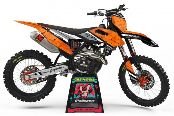 Kit adhesivos moto KTM Greyack