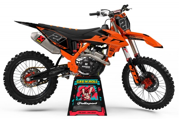 Kit adhesivos moto KTM Slip...