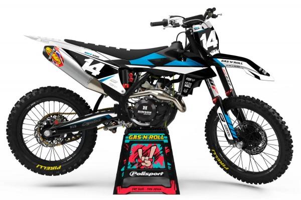 Kit adhesivos moto KTM Hit...
