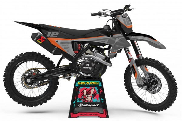 Kit adhesivos moto KTM...