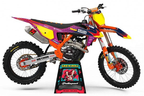 Kit adhesivos moto KTM Troy...