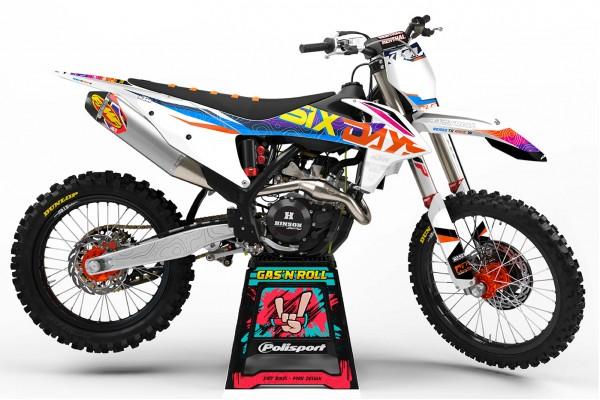 Kit adhesivos KTM 2022 Six...
