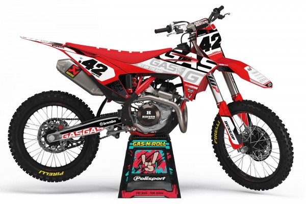 Kit adhesivos moto Gas Gas...