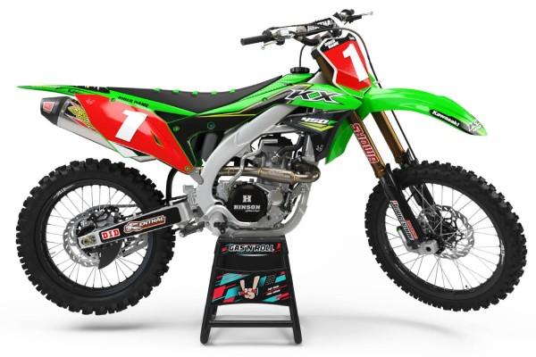 Kit adhesivos moto Kawasaki 05
