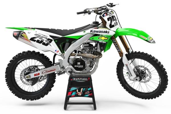 Kit adhesivos moto Kawasaki 06