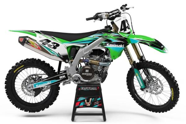 Kit adhesivos moto Kawasaki 07