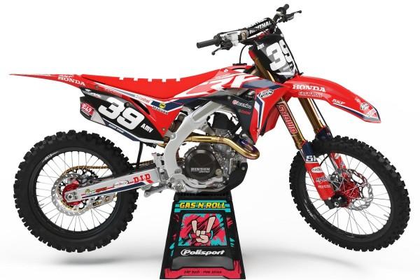 Kit adhesivos moto Honda 03
