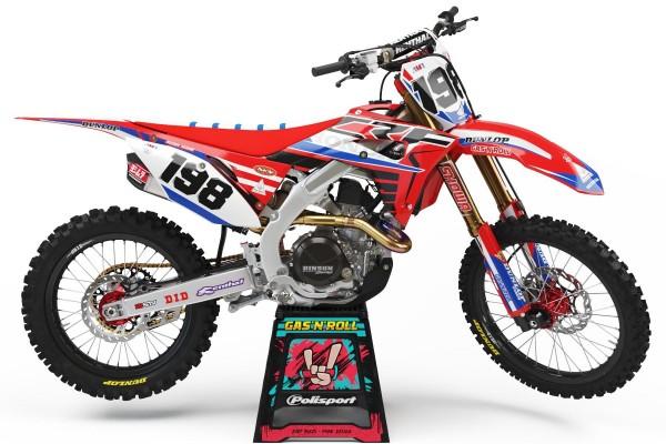 Kit adhesivos moto Honda 04