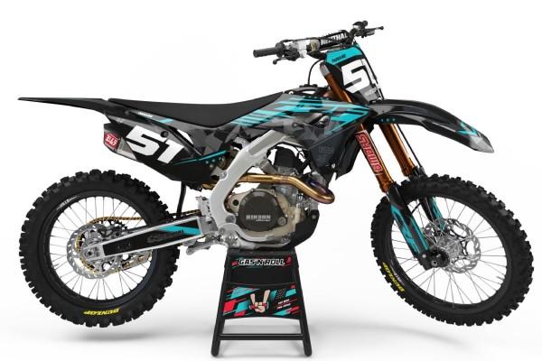 Kit adhesivos moto Honda 05