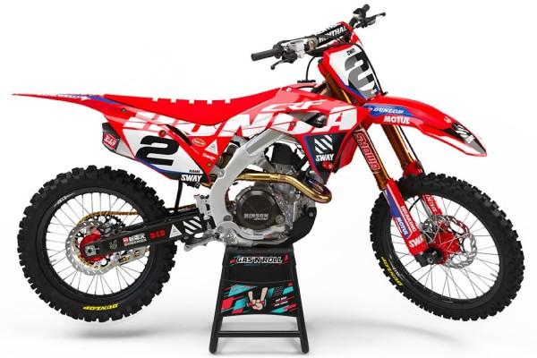 Kit adhesivos moto Honda 07