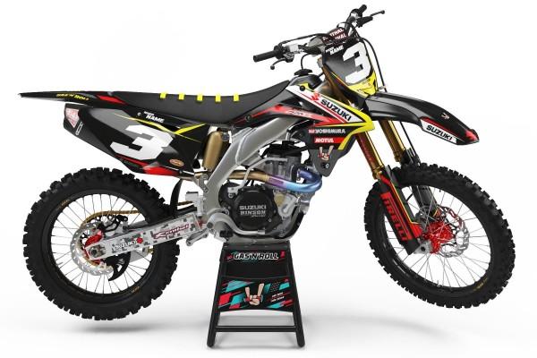 Kit adhesivos moto Suzuki 01