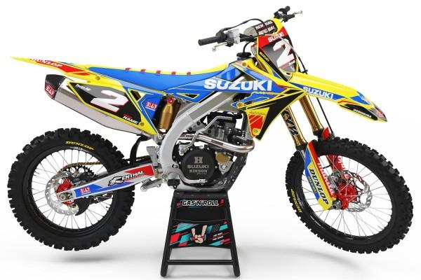 Kit adhesivos moto Suzuki 02