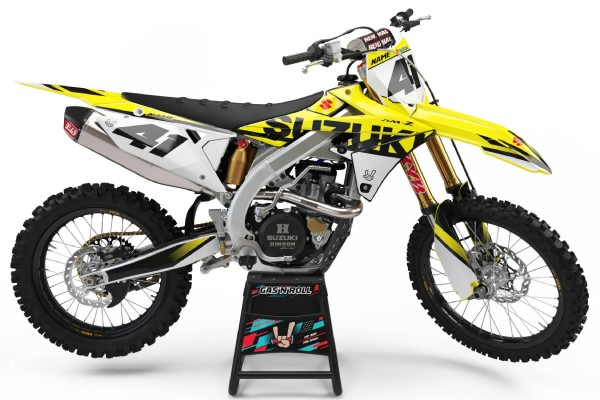 Kit adhesivos moto Suzuki 03