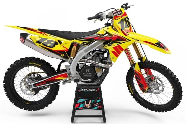 Kit adhesivos moto Suzuki 04