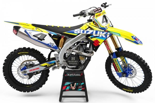 Kit adhesivos moto Suzuki 05