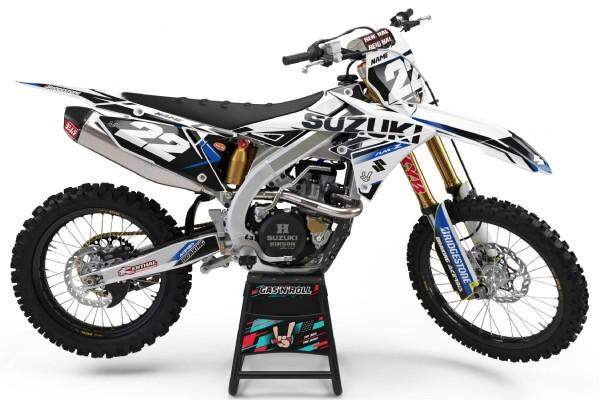 Kit adhesivos moto Suzuki 07