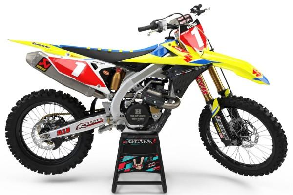Kit adhesivos moto Suzuki...