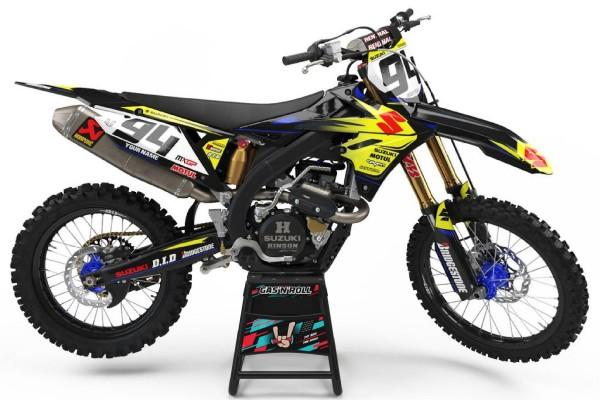 Kit adhesivos moto Suzuki 10