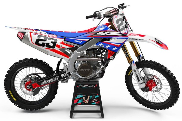 Kit adhesivos moto Yamaha USA