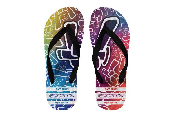Chanclas GAS'N'ROLL Colors