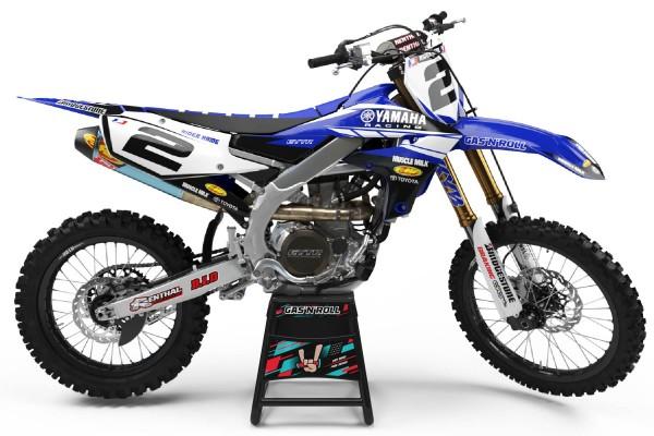 Kit adhesivos moto Yamaha Milk