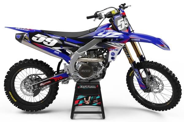 Kit adhesivos moto Yamaha Burn