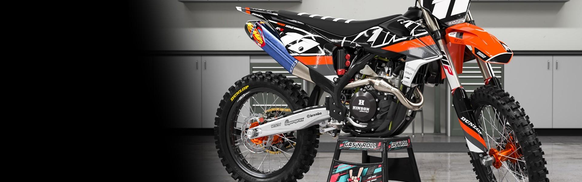 Kits de adhesivos moto KTM