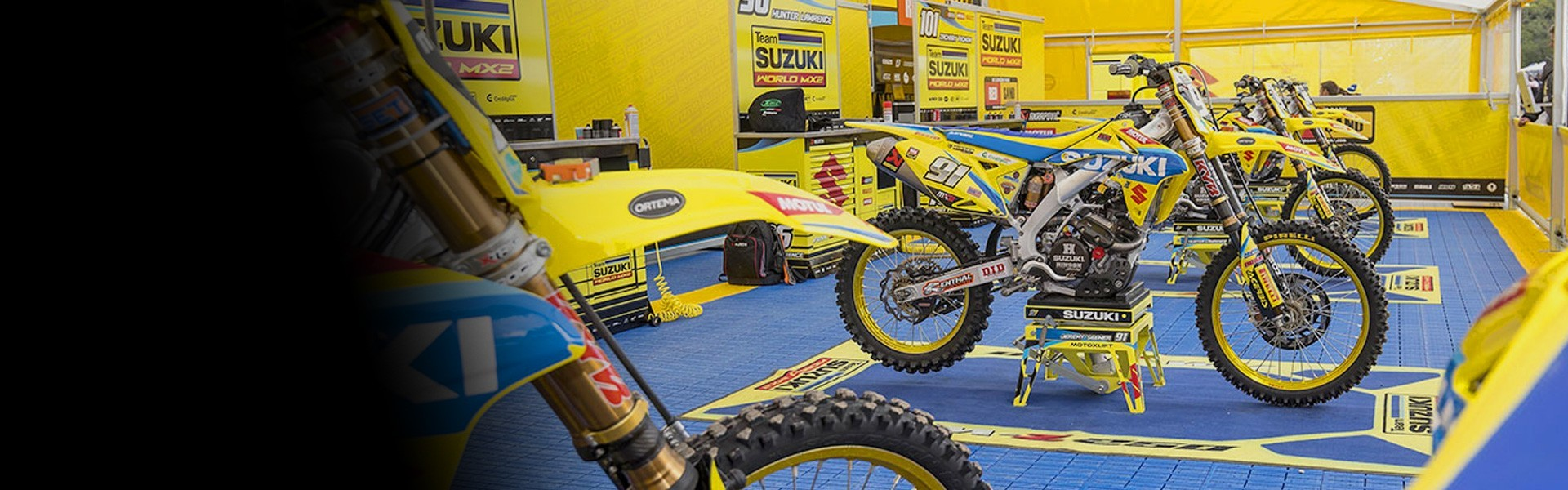 Kit de adhesivos moto Suzuki